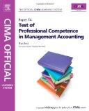 CIMA Official Learning System Test of Professional Competence in Management Accounting, Sixt...
