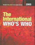 International Who's Who The International Who's Who