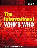 International Who's Who 2007