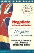 Negotiate = Negocier In French and English = En Anglais Comme En Francais