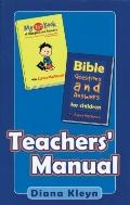 Bible Questions and Answers Teachers Manual
