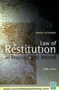 Law of Restitution in England and Ireland