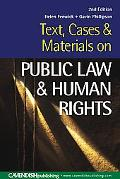 Public Law & Human Rights Text, Cases & Materials