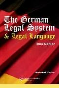 German Legal System And Legal Language