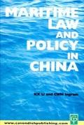 Maritime Law and Policy of China