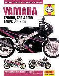 Yamaha Fzr600, 750 & 1000 Fours 87 to 96