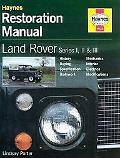 Land-Rover Series I, II & III Restoration Manual