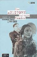 Auditory Culture Reader