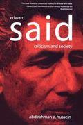 Edward Said Criticism And Society