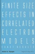 Finite Size Effects In Correlated Electron Models Exact Results
