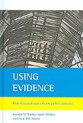 Using Evidence Improving Public Services Through Better Use of Research