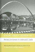 Analysis and Debate in Social Policy, 2005 - Martin Powell - Hardcover