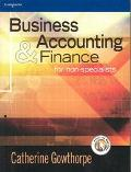 Business Accounting and Finance for Non-Specialists