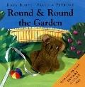 Round & Round The Garden: With Plush Finger Puppet, Lift-The-Flaps And Giant Fold-Out Page