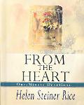 From the Heart: One Minute Devotions