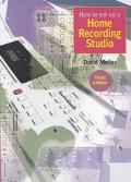 How to Set up a Home Recording Studio - David Mellor - Paperback - 3RD