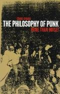 Philosophy of Punk More Than Noise