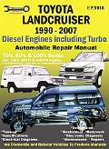 Toyota Landcruiser 1990-2002 Diesel Engines Including Turbo  Automobile Repair Manual  70'S,...