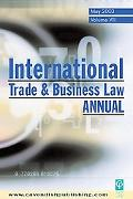 International Trade & Business Law Annual