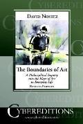 Boundaries of Art