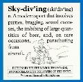 Skydiving: A Dictionary for the Sport Parachutist
