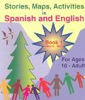 United States of America Stories Maps Activities in Spanish and English: For Ages 10-Adult, ...