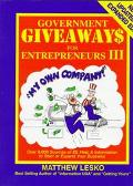 Government Giveaways for Entrepreneurs, Vol. 4 - Matthew Lesko - Paperback - Updated & Expanded