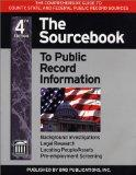 The Sourcebook to Public Record Information 4th Edition
