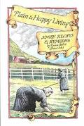 Plain and Happy Living: Amish Recipes and Remedies - Emma Byler - Paperback - REVISED