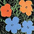 JEFF KOONS ANDY WARHOL FLOWERS.