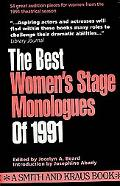 Best Women's Stage Monologues of 1991