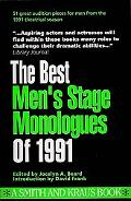 Best Men's Stage Monologues of 1991