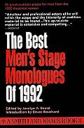 Best Men's Stage Monologues of 1992