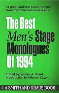 Best Men's Stage Monologues of 1994