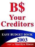 B$ Easy Budget Book 2003