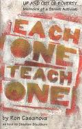Each One Teach One Up and Out of Poverty  Memoirs of a Street Activist