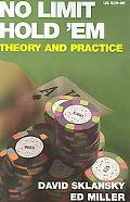 No Limit Hold 'em Theory And Practice