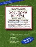 Solutions Manual: Principles & Practice of Electrical Engineering