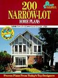Two Hundred Narrow-Lot Home Plans - Home Planners Inc - Paperback