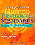 Aiming for Excellence Annotations to the Nagc Pre-K-Grade 12 Gifted Program Standards