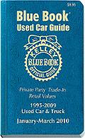 Kelley Blue Book Used Car Guide: January-March 2010 (Kelley Blue Book Used Car Guide Consume...