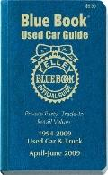 Kelley Blue Book April - June 2009 Used Car Guide: Consumer Edition, Vol. 17