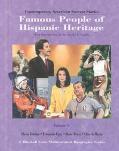 Famous People of Hispanic Heritage: Gloria Estefan, Fernando Cuza, Rosie Perez, Cheech MARIN...