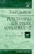 Total Quality in Purchasing & Supplier Management