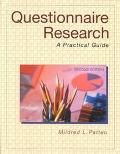 Questionnaire Research A Practical Guide