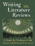 Writing Literature Reviews A Guide for Students of the Social and Behavioral Sciences