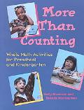 More Than Counting Whole Math Activities for Preschool and Kindergarten
