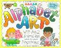 Alphabet Art With A-Z Animal Art & Fingerplays