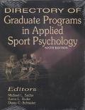 Directory of Graduate Programs in Applied Sport Psychology