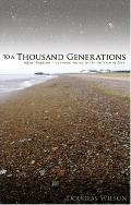 To A Thousand Generations Infant Baptism Covenant Mercy For The People Of God